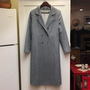 classic double breasted dress coat